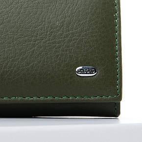 Кошелек Classic кожа DR. BOND 18,5*9*3,5 (W501-2 dark-green), фото 2