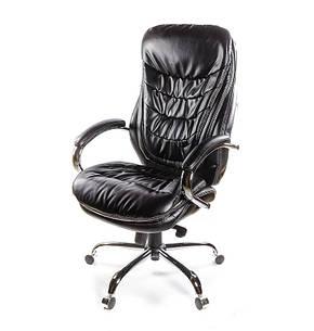 Кресло АКЛАС Валенсия Soft CH MB Черное, фото 2