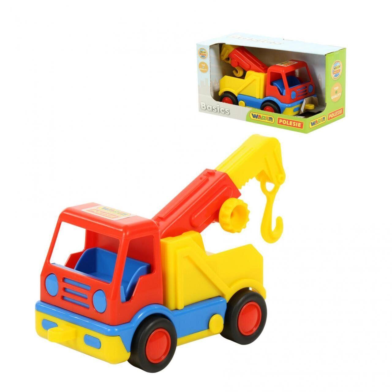 """Игрушка WADER-POLESIE """"Базик"""", автомобиль-эвакуатор в коробке, (37633)"""