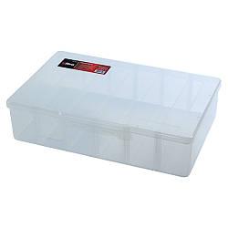 Органайзер пластиковый прозрачный 6 отсеков 310×200×80мм ULTRA (7417102)