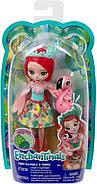 Кукла Энчантималс Фэнси Флэминг и Свош Enchantimals Fanci Flamingo and Swash Оригинал от Mattel , фото 2