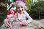 Кукла Энчантималс Фэнси Флэминг и Свош Enchantimals Fanci Flamingo and Swash Оригинал от Mattel , фото 4