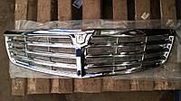 Решетка радиатора Волга 31105 хром (мерседес) (производство Россия)