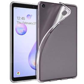 Прозрачный силиконовый чехол-накладка Clear для Samsung Tab A (8.4)