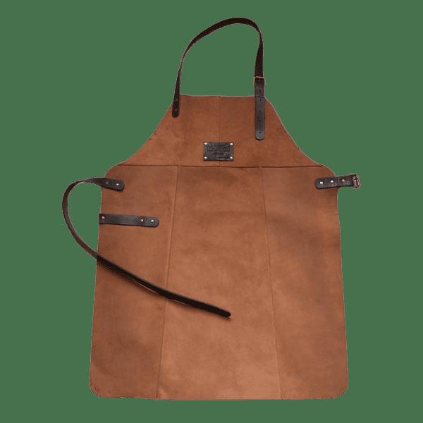 Фартук кожаный фирменный для мангала Holla Grill