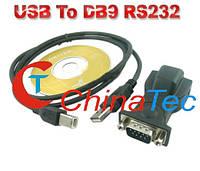 Кабель-адаптер USB в DB9 RS232