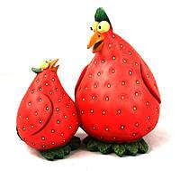Фигура садовая Elsa Клубничные цыплята (SFB036100)