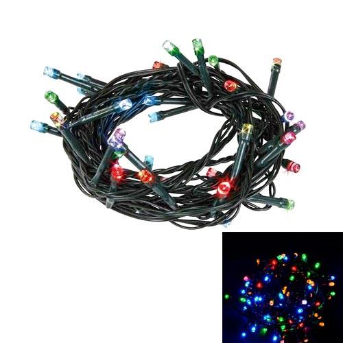 Гірлянда новорічна світлодіодна цветная 80 LED 4м