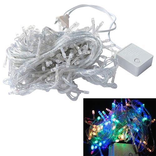 Гирлянда светодиодная новогодняя цветная 400 LED 26м