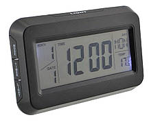 Настольные часы Kenko Kk-2616 с подсветкой, black