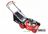 Газонокосилка на 4х колёсах бензиновая 2.2 кВт Yato YT-85245