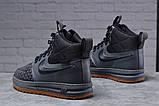Зимние мужские ботинки 31851, Nike LF1 Duckboot (TOP AAA), темно-серые, [ нет в наличии ] р. 41-26,4см., фото 2