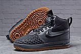 Зимние мужские ботинки 31851, Nike LF1 Duckboot (TOP AAA), темно-серые, [ нет в наличии ] р. 41-26,4см., фото 3