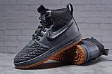 Зимние мужские ботинки 31851, Nike LF1 Duckboot (TOP AAA), темно-серые, [ нет в наличии ] р. 41-26,4см., фото 4