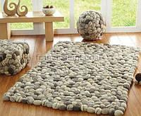 Ковры камни, ковры из фетровой шерсти, войлочные ковры, фото 1