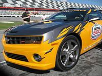 НАШИ РАБОТЫ: Оклейка Chevrolett Camaro под Pace Car