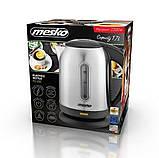 Электрочайник металлический 1.7л Mesko MS 1288 2200вт, фото 6