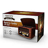 Ретро-радіо з CD / MP3 / USB Camry CR 1109 з пультом, фото 7