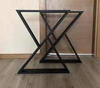 Опора для стола лофт. Мебельные каркасы в стиле лофт.