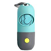 Диспенсер Bettza pet для уборочных пакетов с фонариком