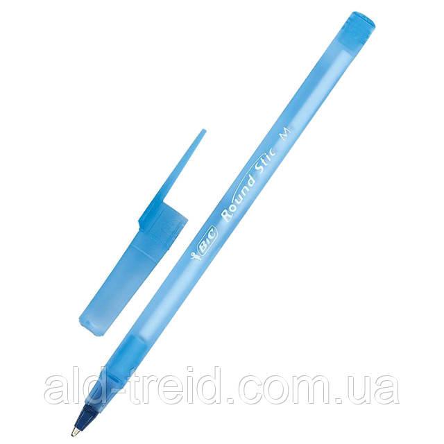 Ручка кулькова BIC Round Stic син  893212/921403