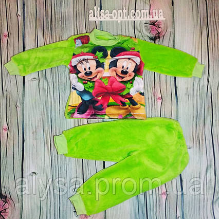 Детская пижама Микки Рождество махра