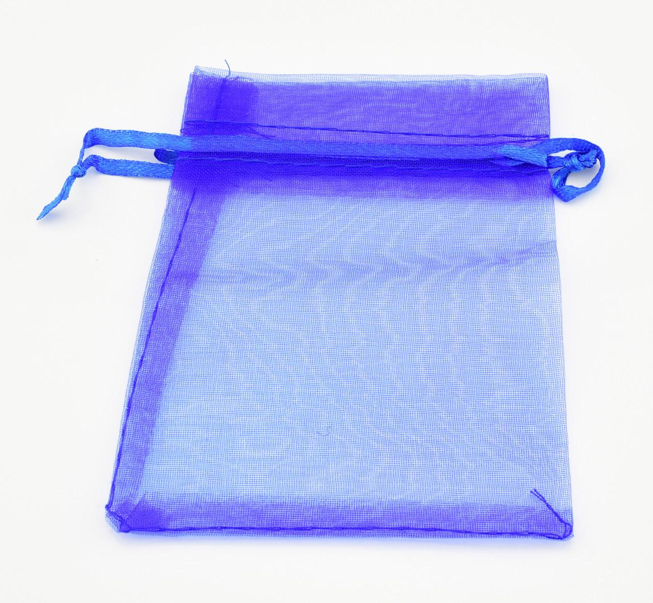 Подарочные мешочки для изделий 10 шт 740129 синие размер 11*8.5 см