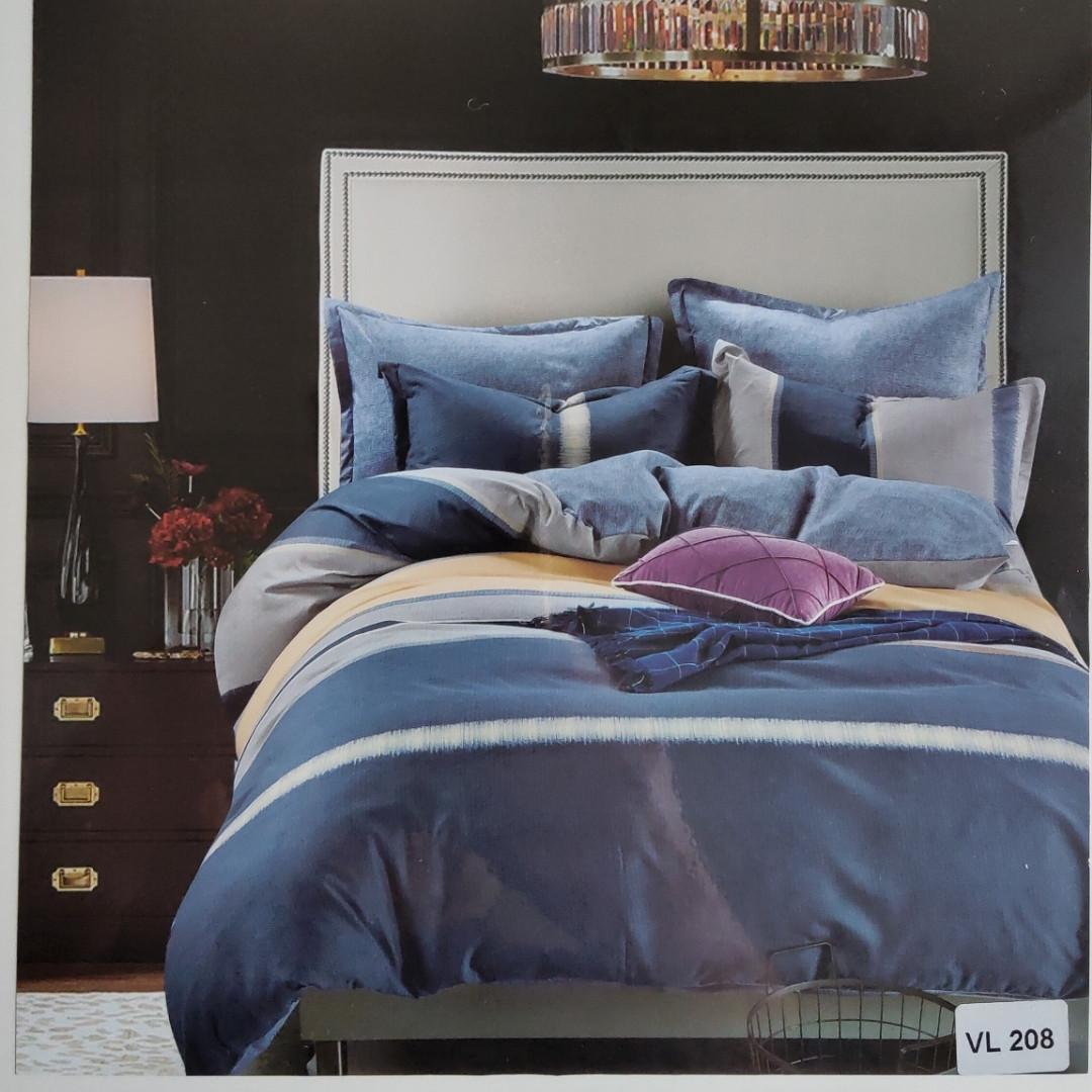 Комплект постельного белья микровелюр Vie Nouvelle Velour 200х220  VL208