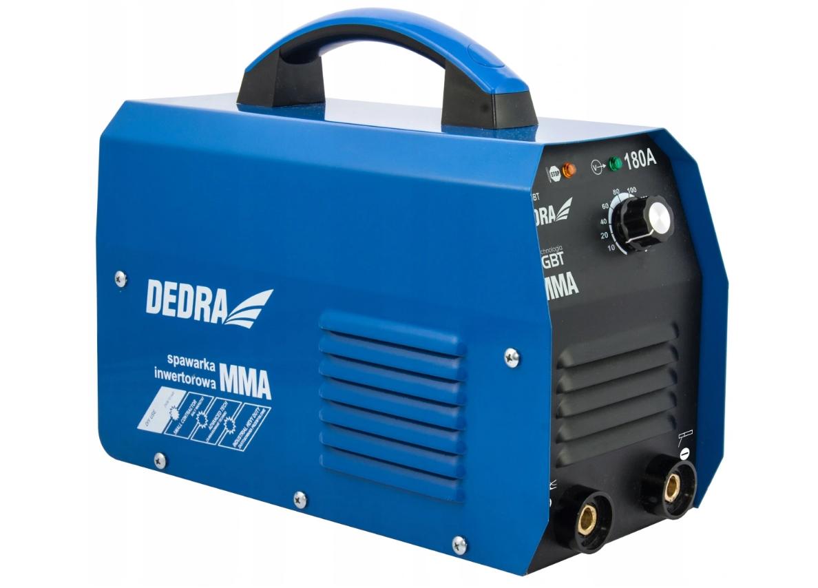 Инверторный сварочный аппарат DEDRA DESI195BT 180A MMA