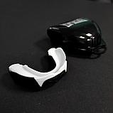 Капа для бокса боксерская для зубов одночелюстная Everlast Evergel Односторонняя Белый (Evergel), фото 2