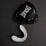 Капа для бокса боксерская для зубов одночелюстная Everlast Evergel Односторонняя Белый (Evergel), фото 4