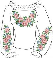 Заготовки вишиванок жіночих бісером 008