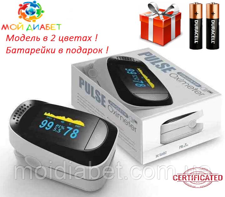 Пульсоксиметр IMDK Medical A2 Original OLED з батарейками і сертифікатом