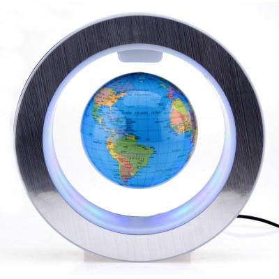 Статуэтка Глобус левитирующий с подсветкой