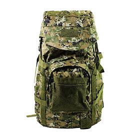 Рюкзак тактичний AOKALI Outdoor A51 50L Camouflage Green КОД: 5366-17006