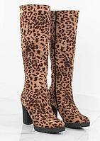 Женские сапоги на каблуке, фото 1