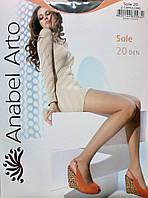 Классические капроновые колготы с шортиками 20 Den ТМ Anabel Arto