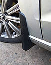 Брызговики MGC Volkswagen Touran 2016+ г.в. комплект 4 шт, фото 5