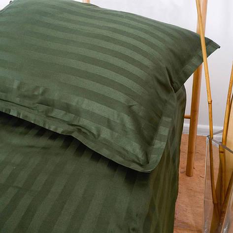 Комплект постельного белья Вилюта 81 сатин Stripe Двуспальный, фото 2