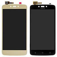Дисплей для Motorola Moto C Plus XT1723, модуль в сборе (экран и сенсор), оригинал, фото 1