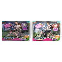 Лялька 30 см, велосипед, 26 см LY618-A-C