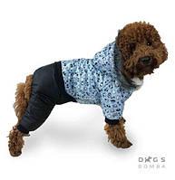 Зимний комбинезон для собак Dogs Bomba AM-1/3 на меху