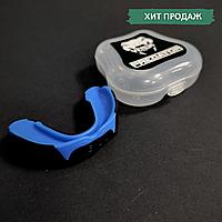 Капа для бокса боксерская для зубов одночелюстная VENUM Венум Односторонняя Термопластик Синий (КП-VNM91)