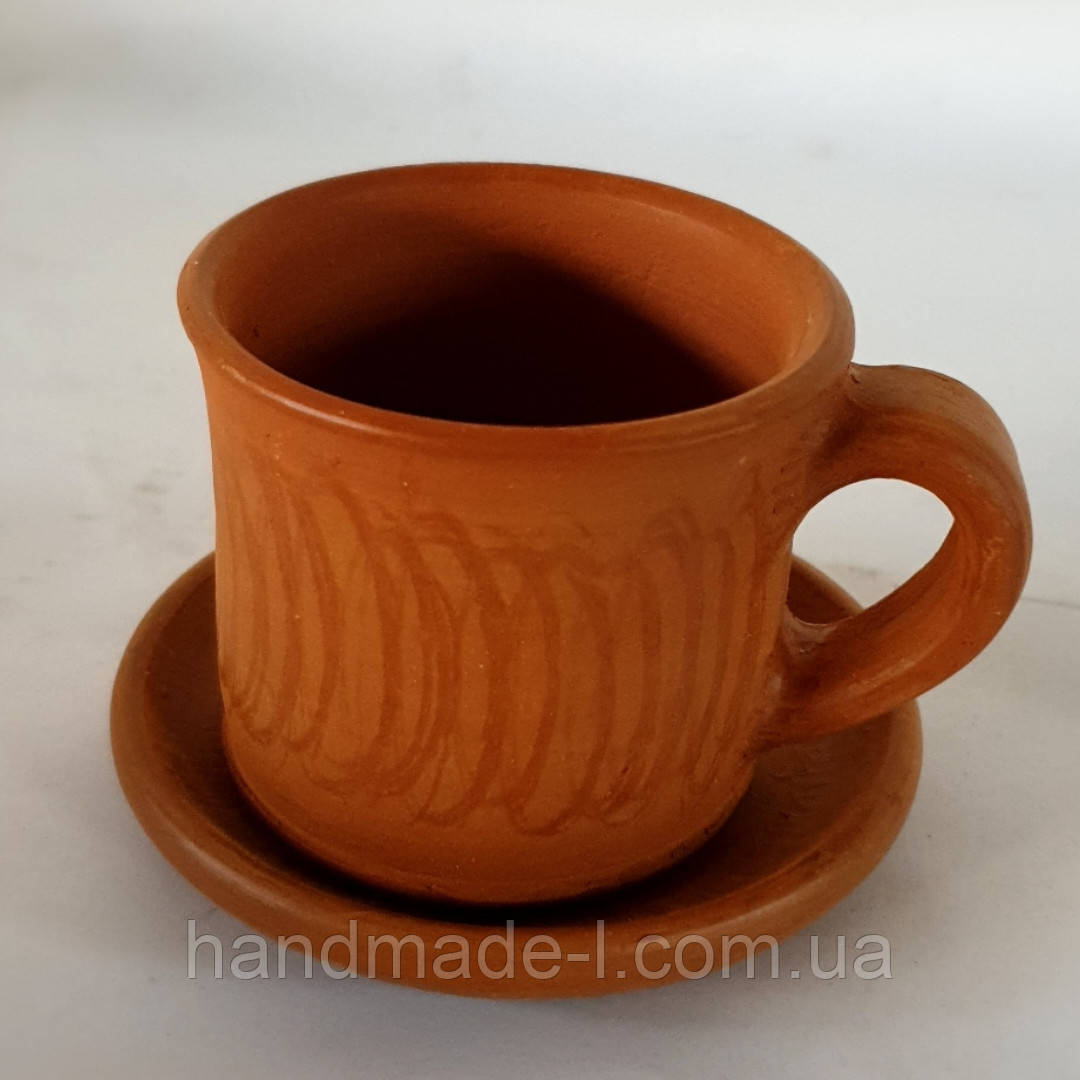 Чашка - філіжанка на каву керамічна 110мл