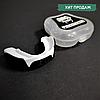 Капа для бокса боксерская для зубов одночелюстная VENUM Венум Односторонняя Термопластик Белый (КП-VNM91)
