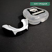 Капа для бокса боксерская для зубов одночелюстная VENUM Венум Односторонняя Термопластик Белый (КП-VNM91), фото 1