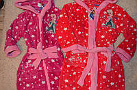 Халат банный  Дисней Фроузен(Холодное Сердце) для девочек 3-8 лет