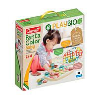 "Набор серии Play Bio- Для занятий мозаикой ""Fantacolor Baby"" Quercetti 84405-Q, фото 1"