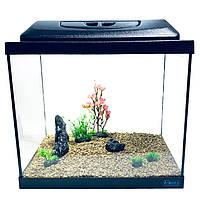 Аквариумный набор Aquas Premium 35л Led 9 Вт + декор