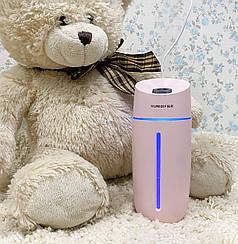 Увлажнитель воздуха компактный ультразвуковой Adna Fresh Q1 для детской комнаты дома с подсветкой Год гарантии